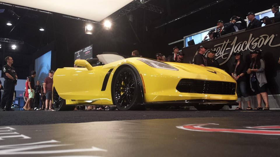 First Production Corvette Z06 Sells for $1,000,000 at Barrett-Jackson