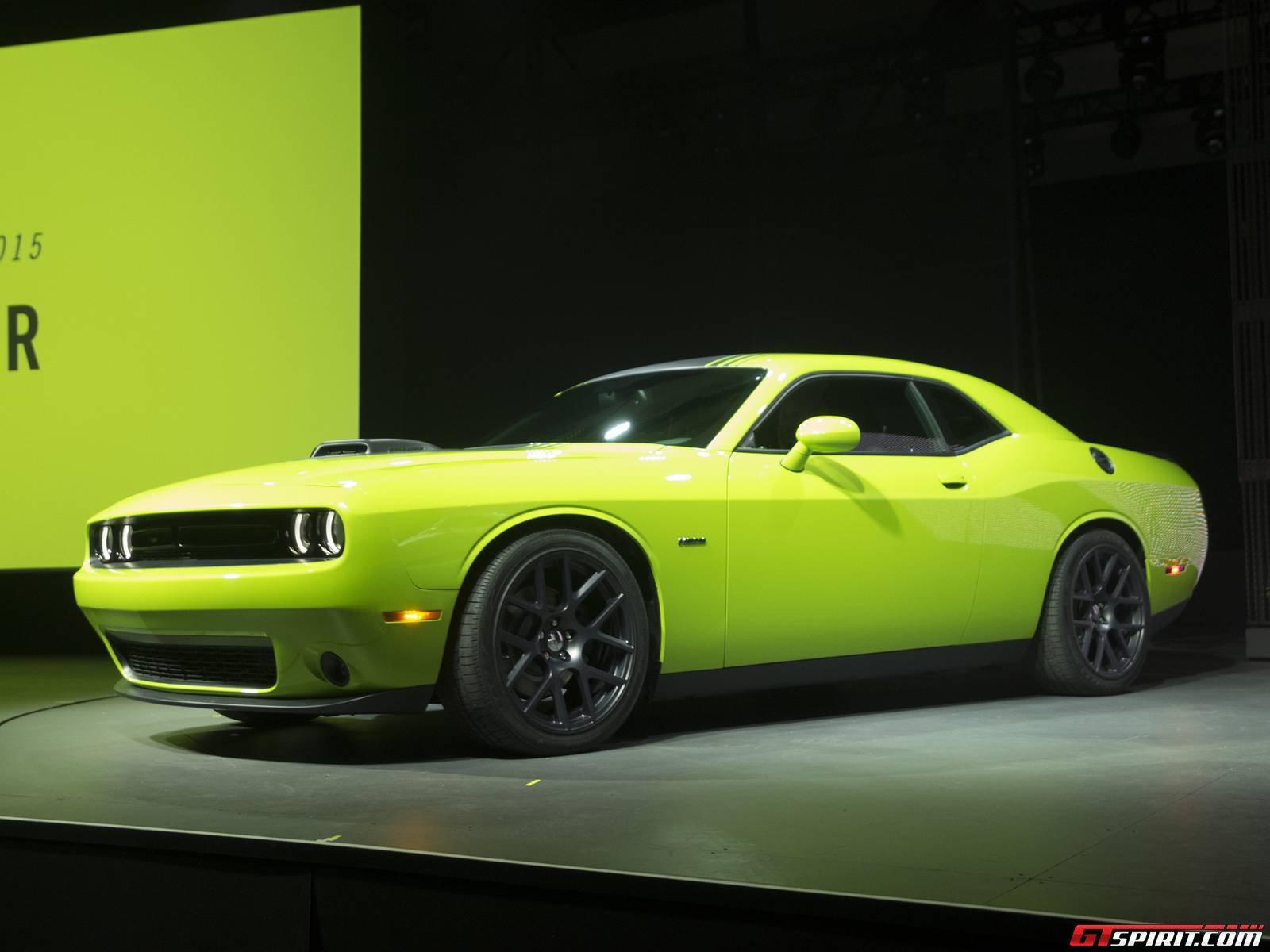 New Dodge Challenger >> New York 2014 Dodge Challenger Gtspirit