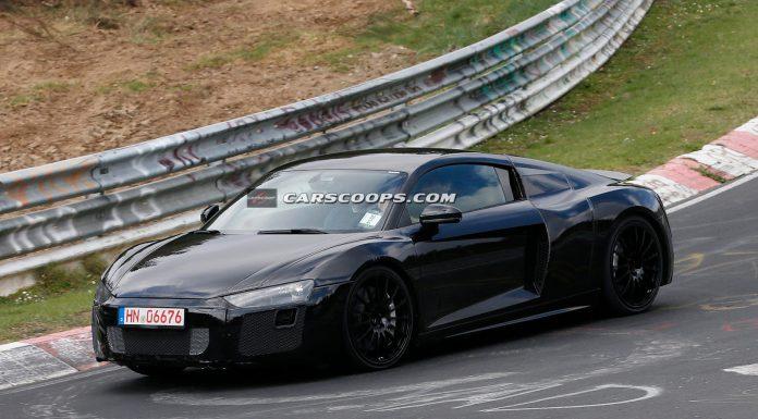 Next-Gen Audi R8 Drops Camo in Latest Nurburgring Spy Pics