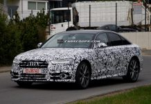 Facelifted Audi A6 Spied Testing