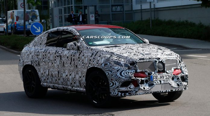 Mercedes-Benz MLC Spied Testing With Concept Coupe Styling