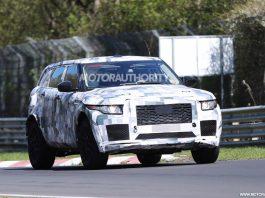 Upcoming Jaguar SUV Concept Hits the Nurburgring