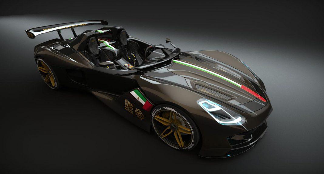 Dubai Roadster Sports Car Imagined