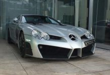 Mansory SLR Renovatio For Sale in Germany