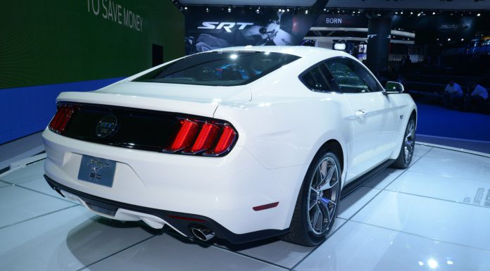 Ford Mustang 50 Year Limited Edition at the New York Auto Show 2014