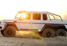 Five Mercedes-Benz G63 AMG 6x6s Heading to Japan