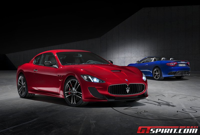 official maserati granturismo mc centennial edition coupe. Black Bedroom Furniture Sets. Home Design Ideas