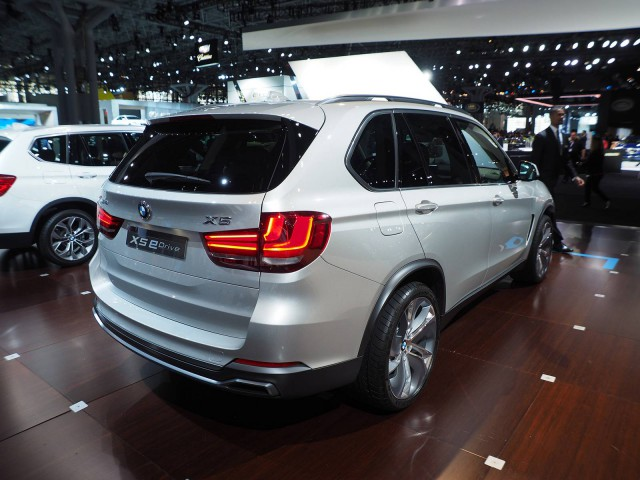 New York 2014: BMW X5 Concept eDrive