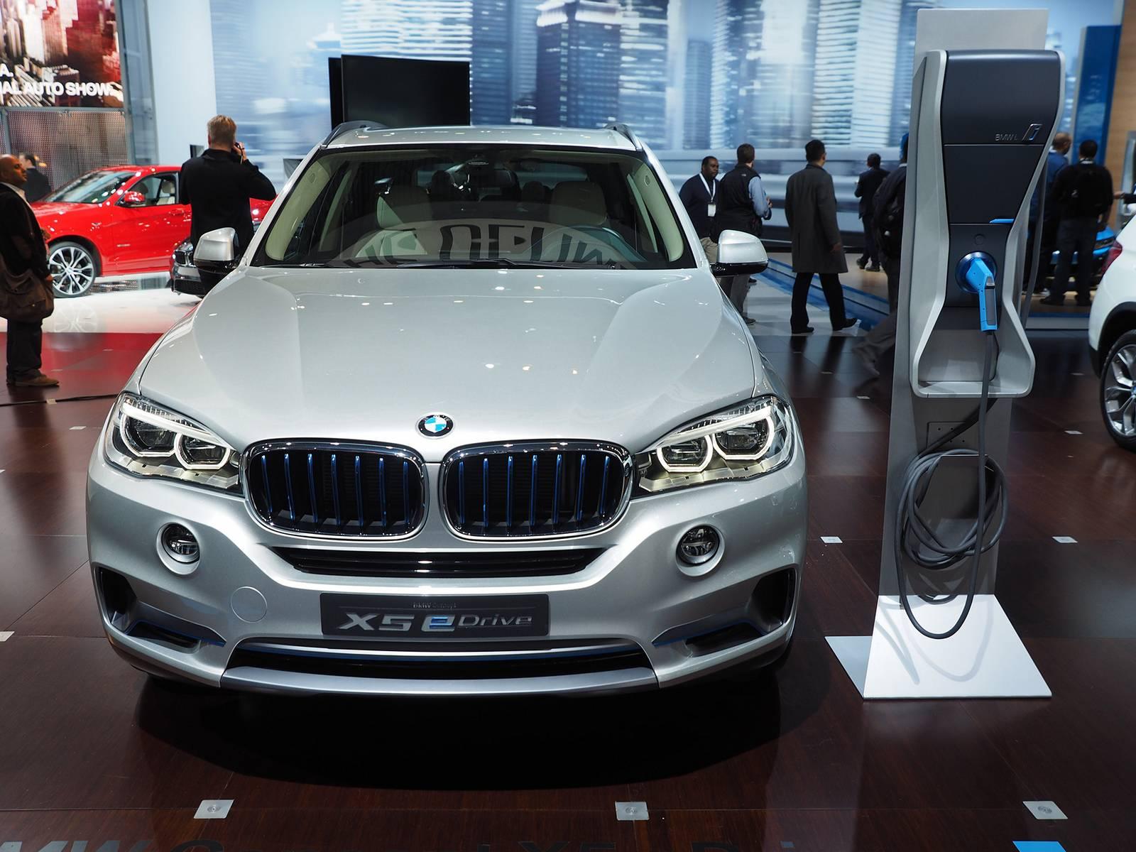 New York 2014: BMW X5 Concept eDrive