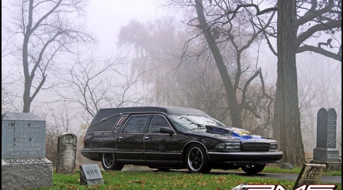 Video: World's Fastest Hearse; 9 Second 1/4 Mile!