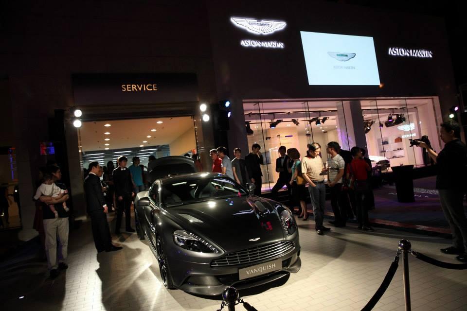 Aston Martin Opens Showroom in Taiwan