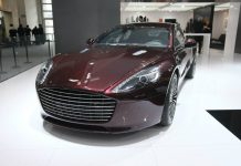 Aston Martin at the Beijing Motor Show 2014