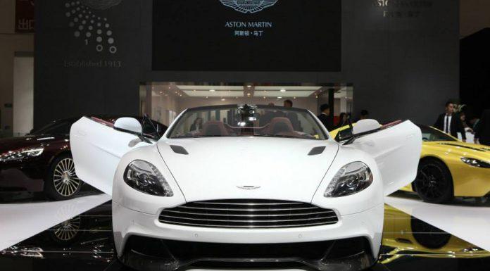 Aston Martin at the Beijing Motor Show 2014