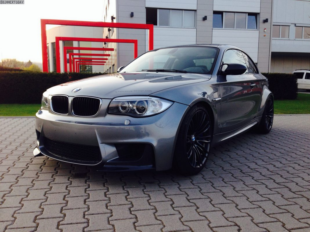Welcome to the 555hp V10 Powered BMW 1-Series