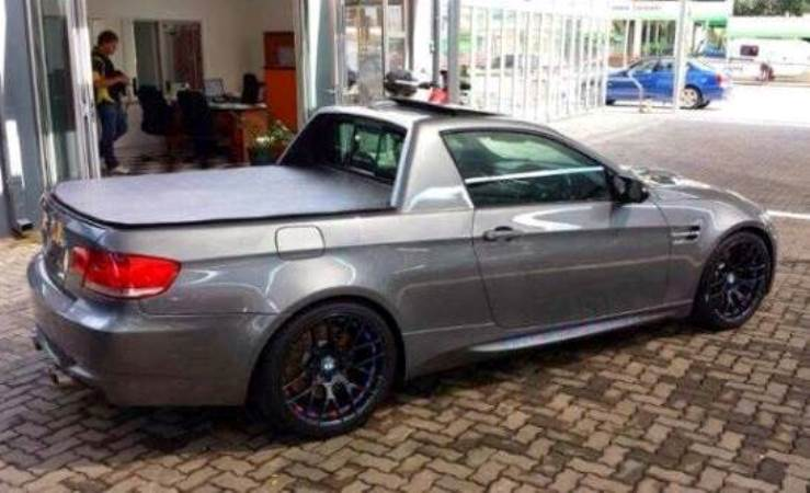 Another Bmw M3 Pick Up Spotted Gtspirit