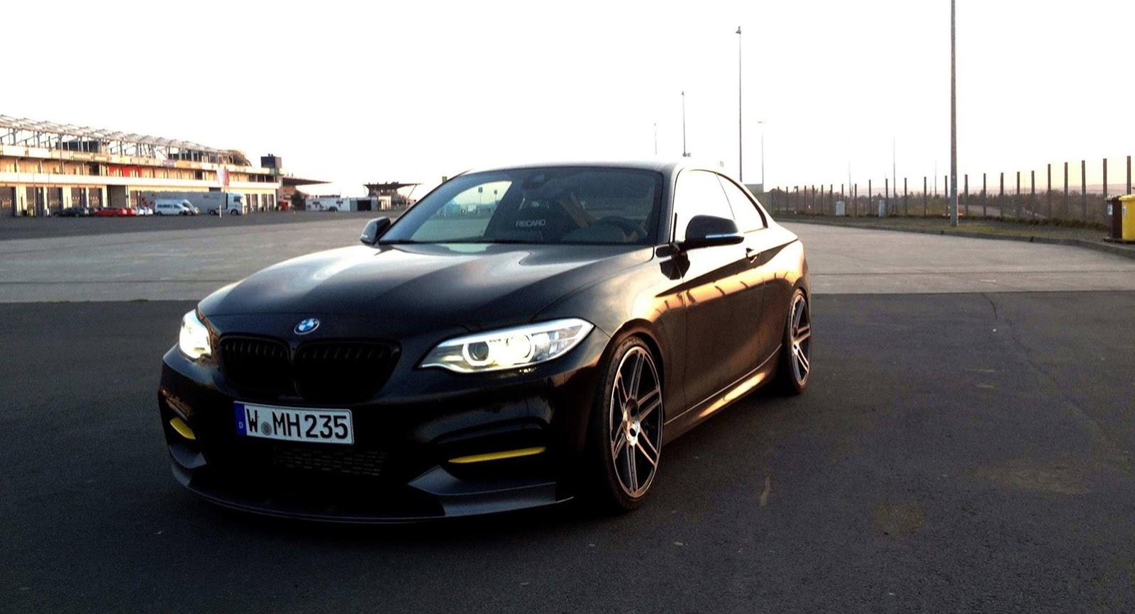 BMW Convertible bmw m235i race car Manhart Racing Teases 400hp+ BMW M235i - GTspirit