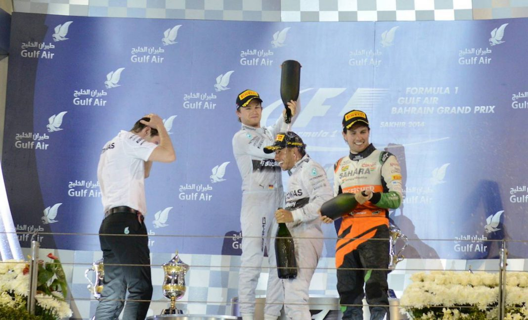 Bahrain Grand Prix: Hamilton and Rosberg Does it Again! 1-2 Podium Finish