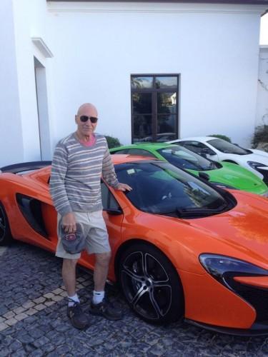 Sir Patrick Stewert Gets McLaren 650S Spider