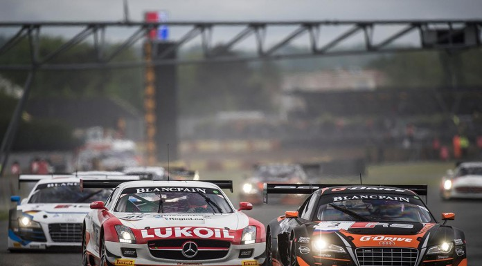 Blancpain GT Series: Mercedes Takes First Win in Nogaro France