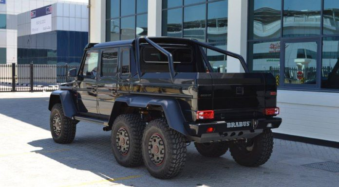 Brabus B63S 700 6x6 in Dubai