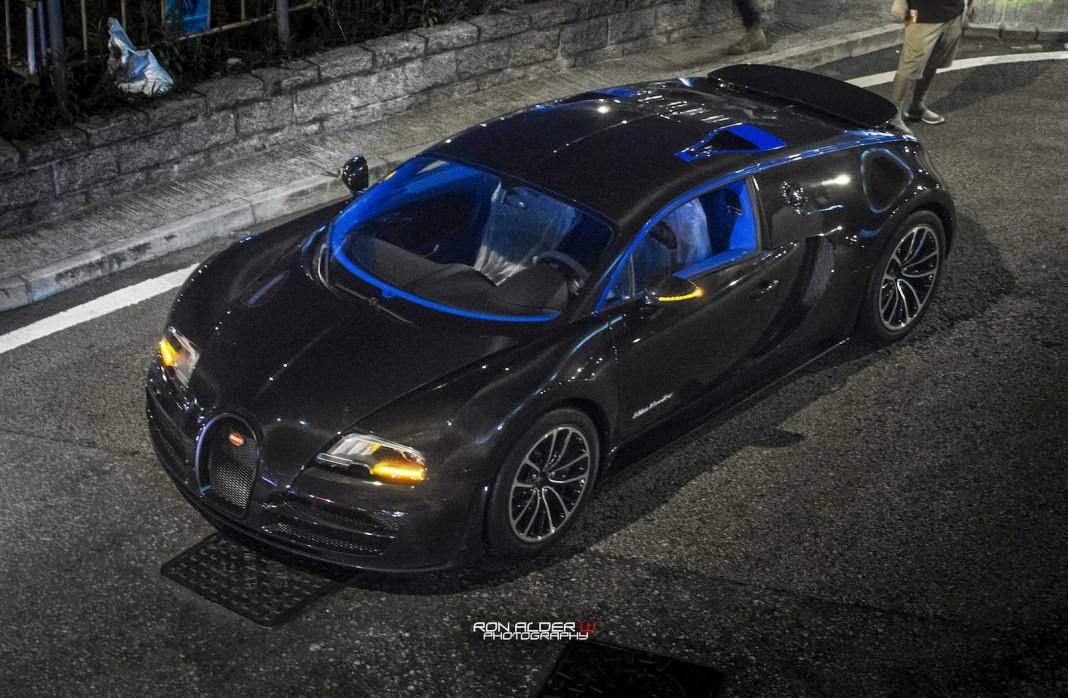 bugatti veyron super sport merveilleux edition in hong. Black Bedroom Furniture Sets. Home Design Ideas