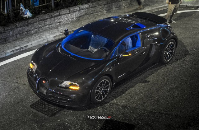Bugatti Veyron Super Sport Merveilleux Edition In Hong