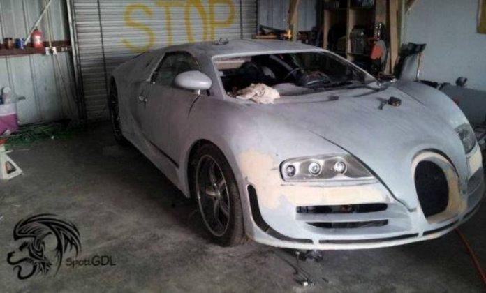 Bugatti Veyron Super Sport Replica