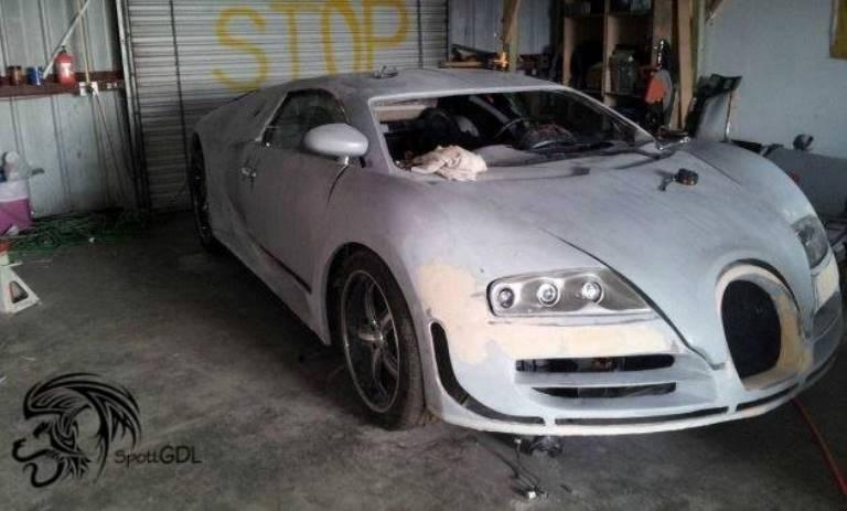 Mexican Building Bugatti Veyron Super Sport Replica