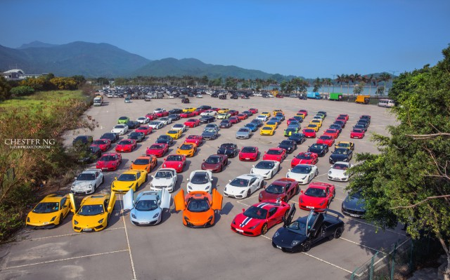 Photo Of The Day: Epic Supercar Gathering