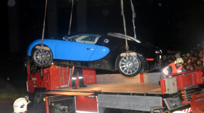 Bugatti Veyron Crash in Austria