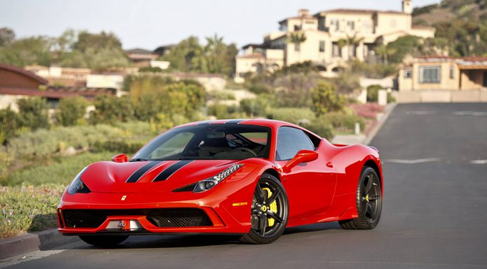 The First Ferrari 458 Speciale in the US