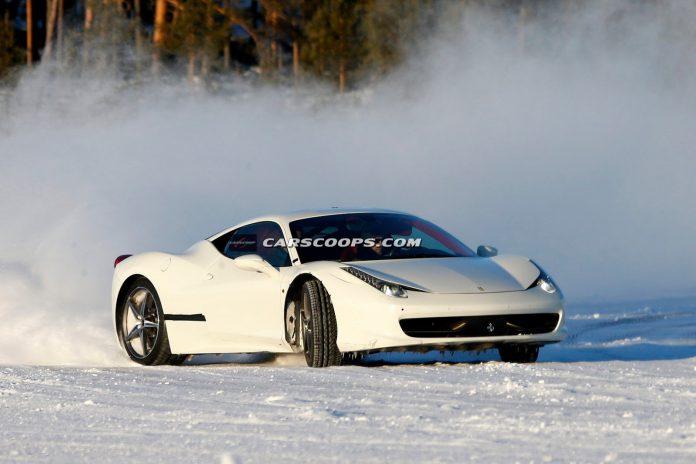 Ferrari 458 Italia Successor Spied Testing