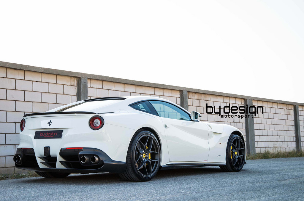 ferrari 2014 white. white ferrari f12 berlinetta by bydesign motorsports 2014