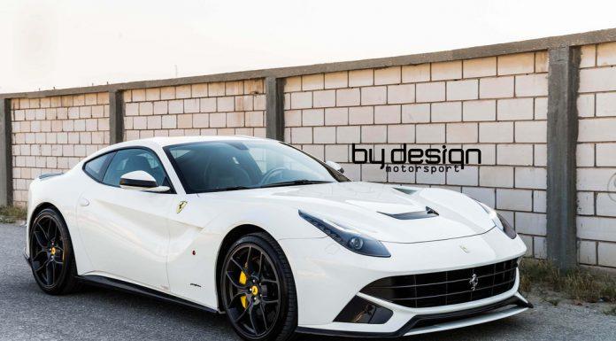 White Ferrari F12 Berlinetta by ByDesign Motorsports