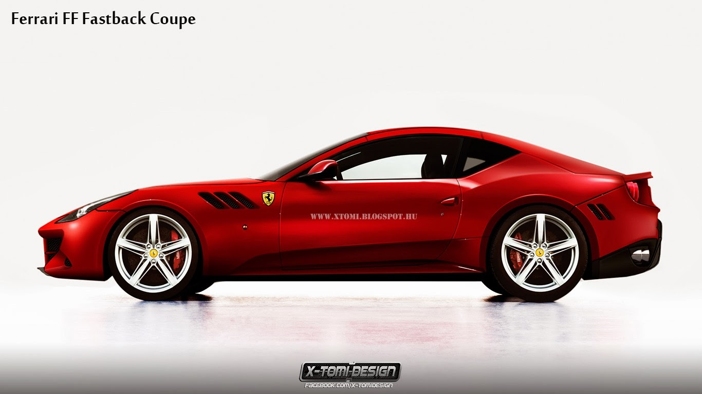 ferrari ff coupe rendered gtspirit. Cars Review. Best American Auto & Cars Review