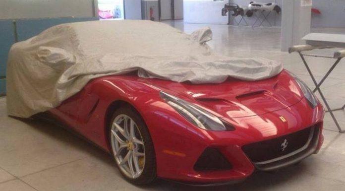 One-off Ferrari SP America; An F12 Targa?