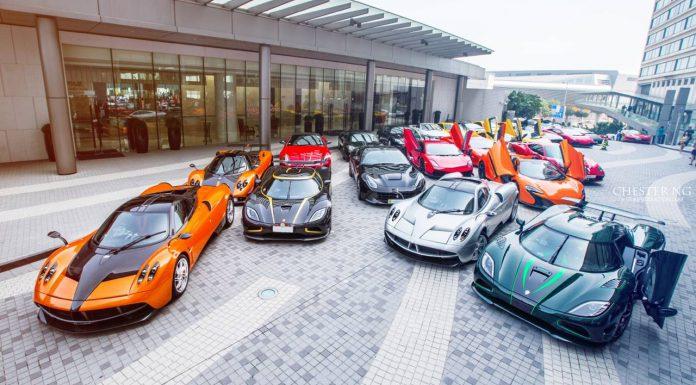 SMD Club Supercar Photoshoot in Hong Kong