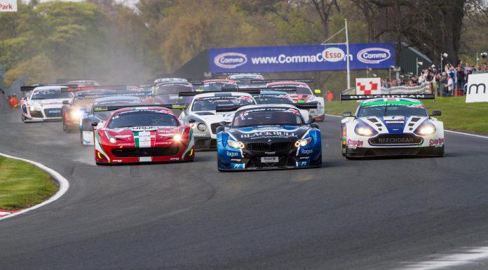 British GT Oulton Park 2014