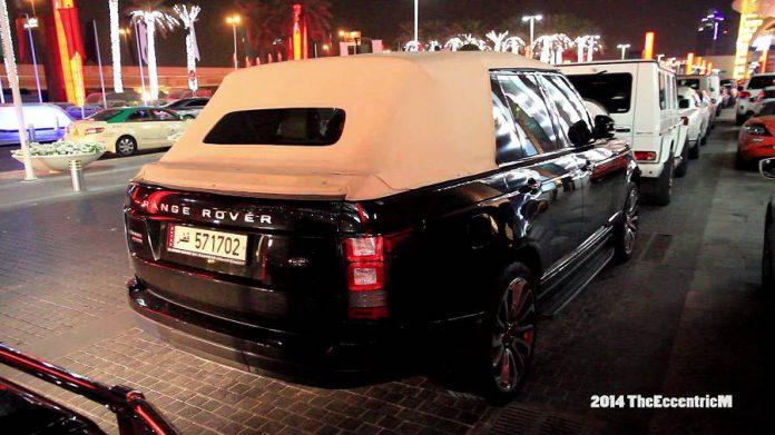 Soft Top Range Rover