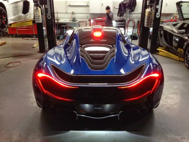 Azure Blue McLaren P1