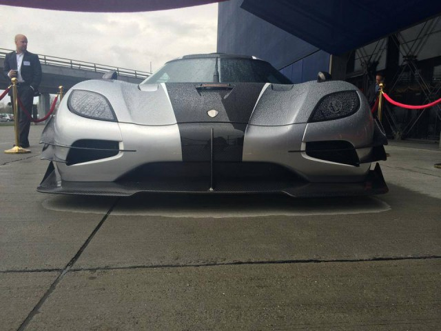 Koenigsegg One:1 Spotted in Copenhagen, Denmark
