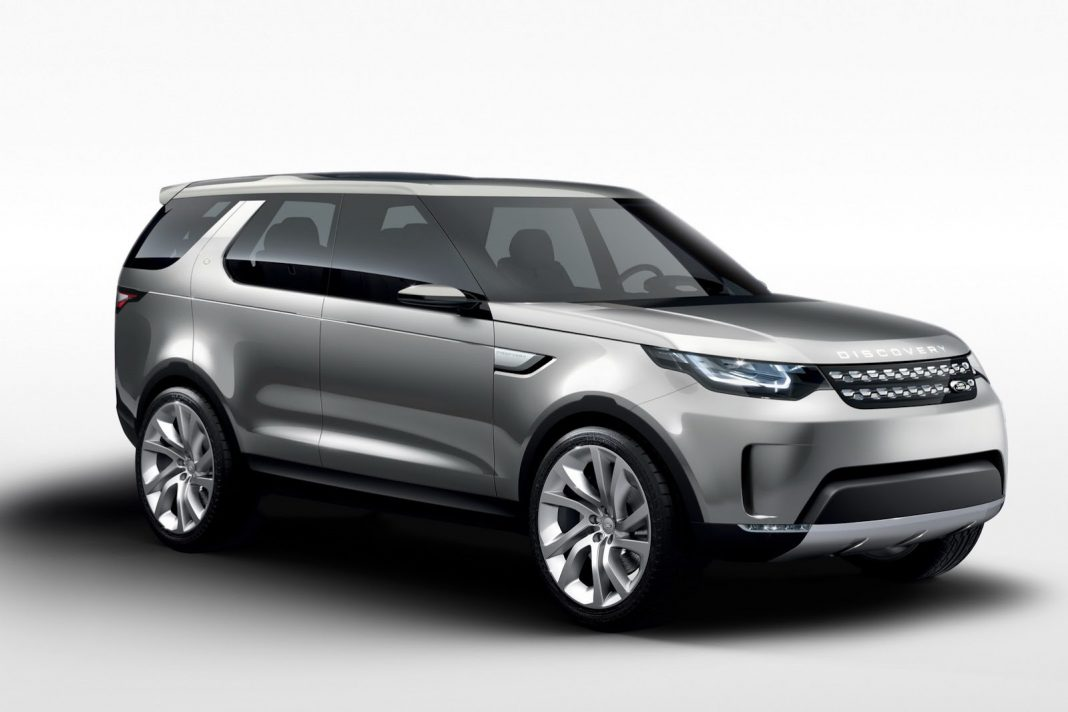 Official: Land Rover Discovery Vision Concept