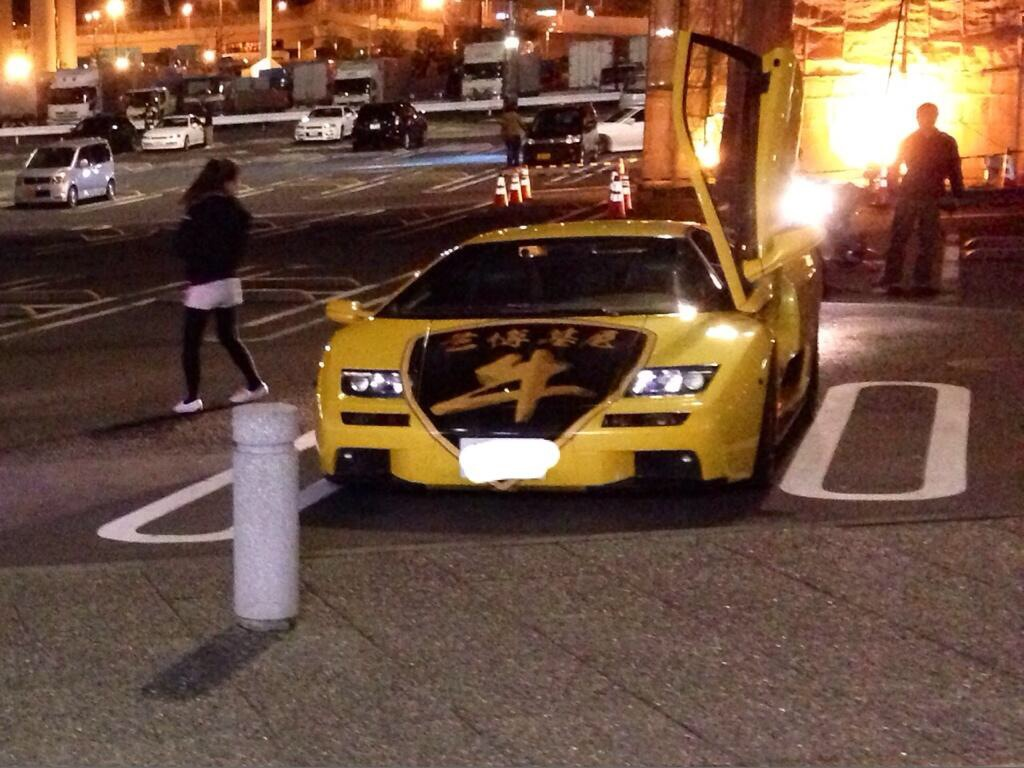 Lamborghini Diablo Crashes In Tokyo Gtspirit