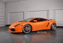Arancio Borealis Lamborghini Gallardo LP550-2 with Strasse Wheels