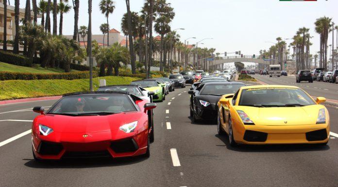 Lamborghini Newport Beach Holds Astonishing Easter Cruise!
