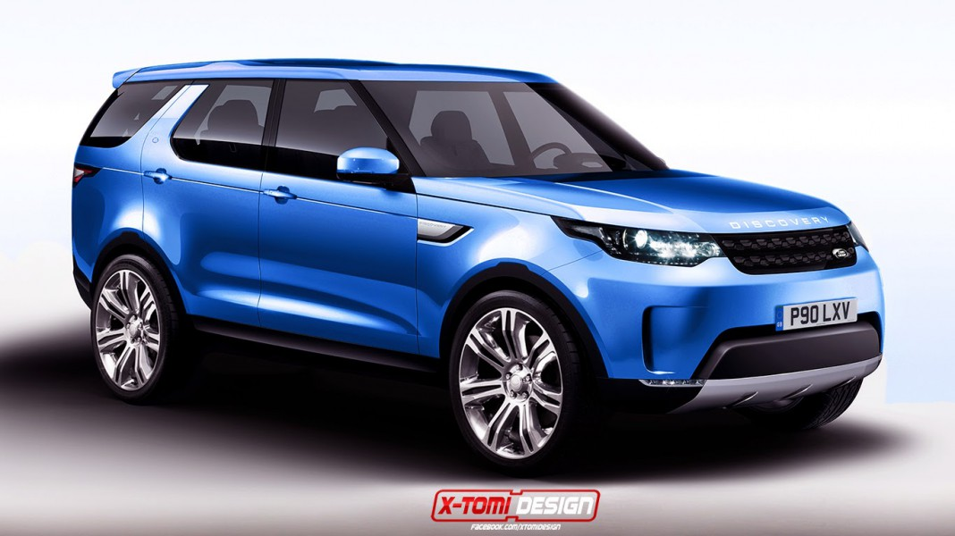Upcoming Land Rover Discovery Sport Imagined