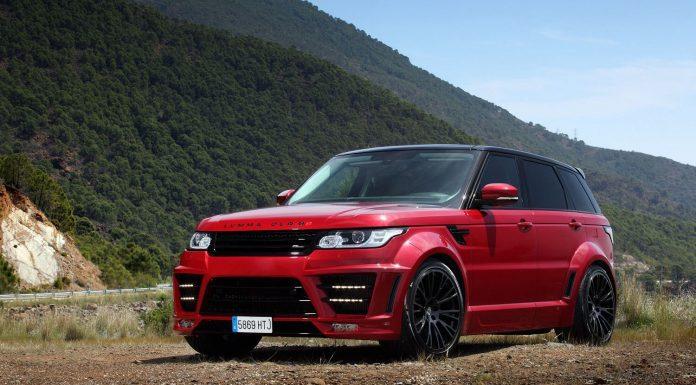 Red Lumma Design Range Rover CLR RS