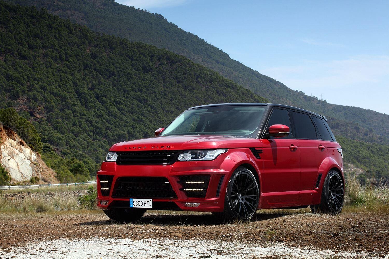 Red Lumma Design Range Rover Clr Rs Gtspirit