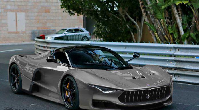Render: Maserati MC13M by Evren Milano