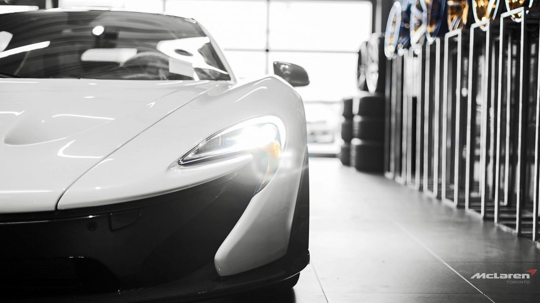 McLaren P1 Canada